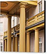 Neo Classical Columns Canvas Print by Barbara McMahon