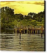 Neshaminy State Park Canvas Print by Tom Gari Gallery-Three-Photography