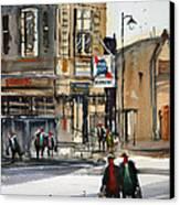 Neshkoro Tavern Canvas Print by Ryan Radke