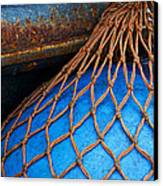 Nets And Knots Number One Canvas Print by Elena Nosyreva