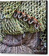 Nets And Knots Number Three Canvas Print by Elena Nosyreva