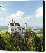 Neuschwanstein Castle Canvas Print by Francesco Emanuele Carucci