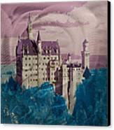 Neuschwanstein Castle  Canvas Print by Metal Art Studio