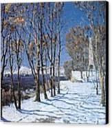 Nevelskoi Square Vladivostok Russia Canvas Print