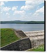 Neversink Reservoir Dam Canvas Print