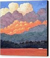 New Mexico Cloudscape  Canvas Print