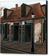 New Orleans Familiar Site Before Canvas Print