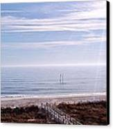 New Year Carolina Beach Canvas Print