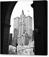 New York Arches 1990s Canvas Print by John Rizzuto