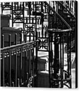 New York City Wrought Iron Canvas Print by Rona Black