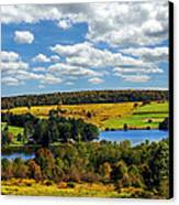 New York Countryside Canvas Print by Christina Rollo