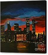 New York In Glory Days Canvas Print