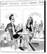 New Yorker March 20th, 2017 Canvas Print by Will McPhail