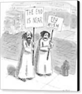 New Yorker May 19th, 1997 Canvas Print