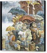New Yorker November 21st, 2005 Canvas Print by Peter de Seve