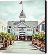 Newport Beach Balboa Main Street Vintage Picture Canvas Print