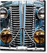 Nice Headlights Canvas Print by Merrick Imagery