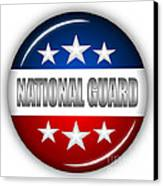 Nice National Guard Shield Canvas Print by Pamela Johnson