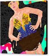 Nid D'oiseau De Angela Balderston Canvas Print by Kenal Louis