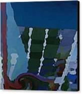 Night At Granville Island Canvas Print