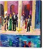 Night At Theatre Canvas Print by Mounir Mounir