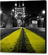 Night Bridge Canvas Print by Keith Allen