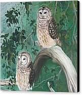 Night Owls Canvas Print