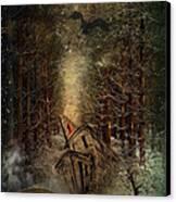 Night Story Canvas Print