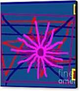 Night Sun Canvas Print by Meenal C
