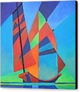 Nightboat Canvas Print