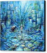Nina Artista  Canvas Print by Heather Calderon