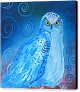 Nite Owl Canvas Print by Amy Reisland-Speer