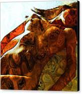 Niu Xv.    Canvas Print by Tautvydas Davainis