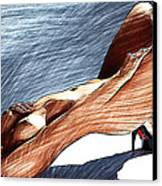Niu Xvii.  2013  90/51 Cm.  Canvas Print by Tautvydas Davainis