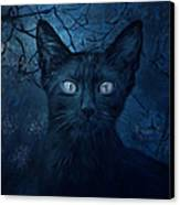 No Place For Scaredy Cats Canvas Print by Hazel Billingsley