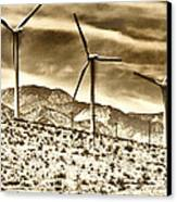 No Place Like Home 3 Palm Springs Canvas Print by William Dey
