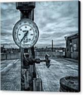 No Pressure Or The Valve At The Top Of The City  Canvas Print by Bob Orsillo