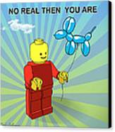 No Real Then You Are Canvas Print by Mark Ashkenazi