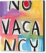No Vacancy Canvas Print