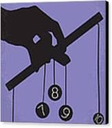 No009 My Being John Malkovich Minimal Movie Poster Canvas Print by Chungkong Art