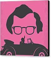 No147 My Annie Hall Minimal Movie Poster Canvas Print