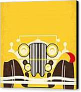 No206 My The Great Gatsby Minimal Movie Poster Canvas Print by Chungkong Art