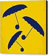 No254 My Singin In The Rain Minimal Movie Poster Canvas Print by Chungkong Art