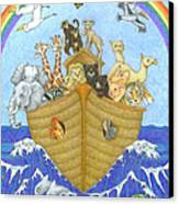 Noah's Ark Canvas Print by Alison Stein