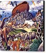 Noah's Ark Canvas Print by Mia Tavonatti