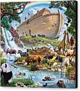 Noahs Ark - The Homecoming Canvas Print by Steve Crisp