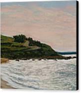 Nobska Lighthouse Canvas Print by Joan Swanson