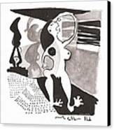 Noctis No. 8 Canvas Print by Mark M  Mellon