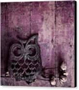 Nocturnal In Pink Canvas Print