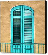 Nola Balcony Canvas Print by Brenda Bryant